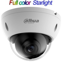 Dahua - IPC-HDBW4239R-ASE-NI-0360B - 2 MP Full Color Starlight+ Мрежова IP Камера, 25 к/с @ 1080P, Обектив 7 - 35 мм, Аудио, PoE, Onvif