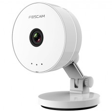 Foscam - C1 Lite - 1 MP Безжична IP Камера, 25 кад/сек @ HD 720P, Обектив 2.8 мм, Wi-Fi, Микрофон, Говорител