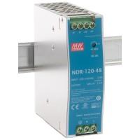 Mean Well - NDR-120-48 - Индустриално Захранване 48 Vdc / 2.5 A / 120 W