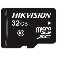 Hikvision - HS-TF-L2/32GB - 32 GB Micro SD HC Карта  Оптимизирана За Системи За Видеонаблюдение, TLC, Class 10/U1, Скорост на Четене / Запис: 95 MB/s / 20 MB/s