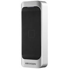 Hikvision - DS-K1107E - Безконтактен Четец за Карти EM 125 kHz за Външен Монтаж, w26 / w34, RS-485