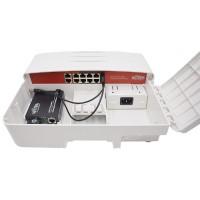 Wi-Tek - WI-PS210G-O - Външен 8 Портов PoE Мрежов Комутатор (Суич)