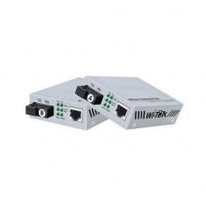 Wi-Tek - WI-MC101M - Комплект Медия Конвертор 10/100BaseTX към 100BaseFX, Singlemode, SC Конектор, TX: 1310 nm RX: 1550 nm, 25 км