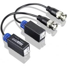 Utepo - UTP101P-HD - Комплект Едноканален Пасивен Видео Балун, HD-TVI, AHD, HDCVI и CVBS (Аналогов)