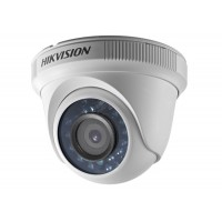 Hikvision - DS-2CE56C0T-IRF - 1 Мегапикселова HD-TVI / AHD / CVI / CVBS Камера с Вградено IR Осветление до 20 м, 25 к/с @ 720P, Обектив 3.6 мм