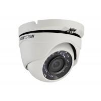 Hikvision - DS-2CE56C0T-IRMF - 1 Мегапикселова 4 в 1 (HD-TVI / AHD / HD-CVI / CVBS) Камера за Външен Монтаж с Вградено IR Осветление до 20 м, 25 к/с @ 720P, Обектив 2.8 мм