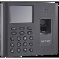Hikvision - DS-K1A802MF-B - Самостоятелен Биометричен Контролер за Контрол на Работно Време, Mifare Карти, Батерия