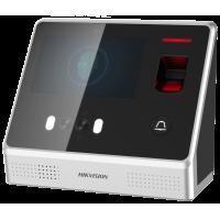 Hikvision - DS-K1T605MF - Самостоятелен Биометричен Видео Контролер с Вградена Камера с Разпознаване на Лица за Контрол на Достъп, Mifare Карти, Wiegand, RS485