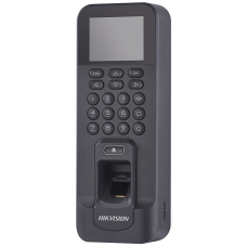 Hikvision - DS-K1T804EF - Самостоятелен Биометричен Контролер за Контрол на Достъп и Работно Време, EM 125 kHz Карти