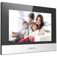 "Hikvision - DS-KH6320-WTE1 - IP Мониторен Панел, 7"" Touch-Screen, Цветен Дисплей, 1024 x 600 px, WiFi, PoE"