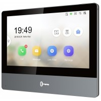 "Hikvision - DS-KH8350-WTE1 - IP Мониторен Панел, 7"" Touch-Screen, Цветен Дисплей, 1024 x 600 px, WiFi, PoE"