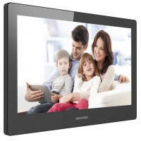 "Hikvision - DS-KH8520-WTE1 - IP Мониторен Панел, 10.1"" Touch-Screen, Цветен Дисплей, 1024 x 600 px, WiFi, PoE, Интерком"