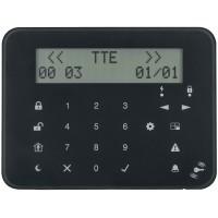 Teletek - Eclipse - LCD 32 S PR - Жична LCD Клавиатура със Сензитивни Бутони и с Вграден Четец за Безконтактни Карти