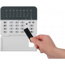 Teletek - Eclipse - LED 32 PR - 32 Зонова Жична LЕD Клавиатура с Вграден Четец за Безконтактни Карти