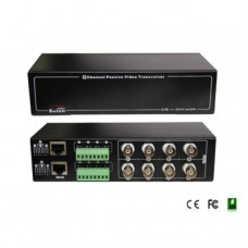 Folksafe - FS-4608SR - 8 Канален Пасивен Видео Балун, CVBS (Аналогов)