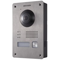 Hikvision - DS-KV8103-IME2 - Еднопостов Лицев Панел, Камера 1080P, 2 MP, Обектив 155°, IP65, IR осветление