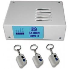 БСМ - Home 3 - Контролен Панел 2 Зони с 3 Дистанционни Управления, Кутия, Сирена и Траф