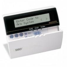 DSC - MAXSYS - LCD4501 - Жична LCD Клавиатура с Програмируеми Съобщения