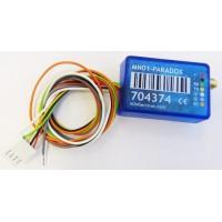 M2M - MN01-PARADOX - GPRS Комуникатор, 2 Входа, 1 Изход, Сериен Порт за Paradox Evo, SP / MG и Spectra 17x8, Смартфон Приложение