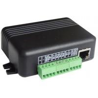 M2M - MQ03-4I-LAN-DTMF - GPRS / LAN Комуникатор, 4 Входа, 2 Изхода, Сериен Порт, DTMF Декодер (Емулатор на Телефонна Линия), Ademco Contact ID, Смартфон Приложение