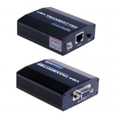 Utepo - UTP801P - Комплект Пасивен Удължител за VGA Сигнал по UTP Кабел до 35 м