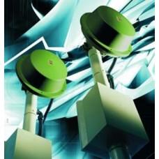 CIAS - ERMO 482X PRO/200 - Цифрова Микровълнова Бариера 200 м за Обекти с Много Високо Ниво на Сигурност