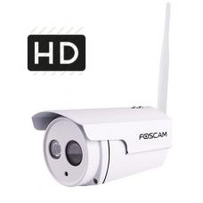 Foscam - FI9803P - 1 MP Безжична IP Камера за Външен Монтаж с Вградено IR Осветление до 20 м, 25 кад/сек @ HD 720P, Обектив 4 мм, Wi-Fi