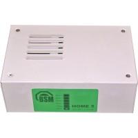БСМ - Home 5 - Контролен Панел 4 Зони с 4 Дистанционни Управления, Кутия, Сирена и Траф