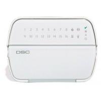 DSC - PowerSeries - RFK5516 - 16 Зонова Жична LЕD Клавиатура с Вграден Безжичен Приемник
