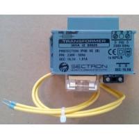 Сектрон Електроникс - TRAF30VA - Мрежов Трансформатор с Предпазител 16.5 Vac, 30 VA