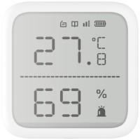 Hikvision - AX PRO - DS-PDTPH-E-WE - Безжичен Детектор за Температура и Влажност, Двупосочна Комуникация, 868 MHz