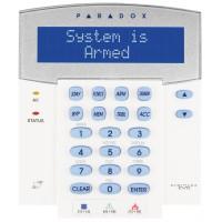 Paradox - K641LX - 32 Символна LCD Клавиатура с Вграден Безжичен Приемник RTX3