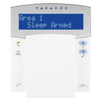 Paradox - K32LX - 32 Зонова Жична 32 Символна LCD Клавиатура с Вграден Безжичен Разширителен Модул RTX3