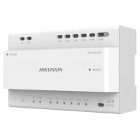 Hikvision - DS-KAD706 - Двупроводен Видео/Аудио Дистрибутор с 6 Канала