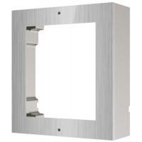 Hikvision - DS-KD-ACW1/S - Единична Модулна Рамка за Повърхностен Монтаж от Неръждаема Стомана