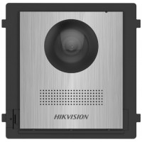 Hikvision - DS-KD8003-IME2/NS - Двупроводна Видеодомофонна Модулна Входна Станция с Цветна Камера 2 MP, Лицев Панел от Неръждаема Стомана