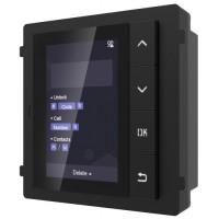 Hikvision - DS-KD-DIS - Видеодомофонен Модул с 4 Бутона за Навигация и Търсене от Списъка с Абонати