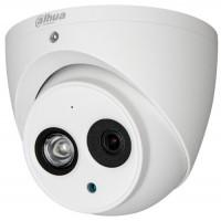 Dahua - HAC-HDW1230EM-A-0360B - 2 MP, 4 в 1, HDCVI / HD-TVI / AHD / CVBS Starlight Камера с Осветление до 50 м, 25 к/с @ 1080P, Обектив 3.6 мм, Микрофон