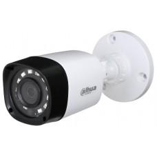 Dahua - HAC-HFW1200R-0280B - 2 MP, 4 в 1, HDCVI / HD-TVI / AHD / CVBS Камера с Осветление до 20 м, 25 к/с @ 1080P, Обектив 2.8 мм