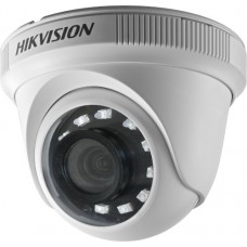 Hikvision - DS-2CE56D0T-IRPF(C) - 2 MP 4 в 1, HD-TVI / HDCVI / AHD / CVBS Камера с IR Осветление до 20 м, 25 к/с @ 1080P, Обектив 2.8 мм